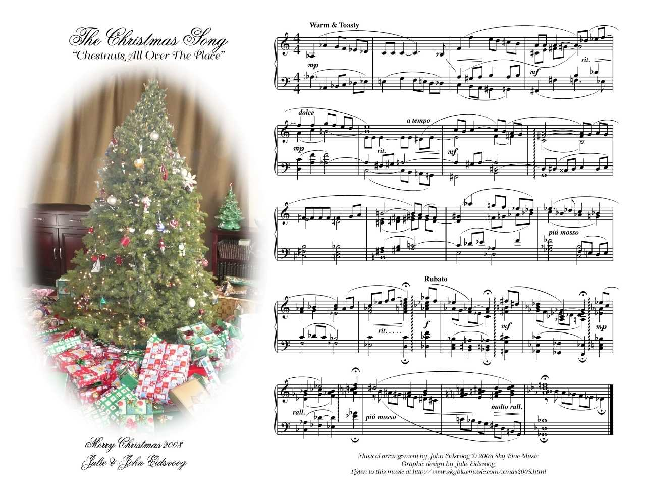 Musical Christmas Card 2008